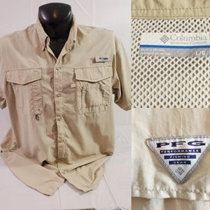Columbia PFG Omni-Shade Vented Outdoors Shirt